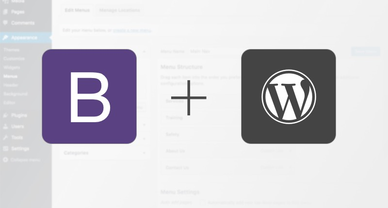 Use Bootstrap to Recreate the WordPress Menu Nav