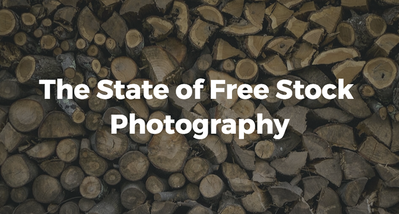 The State of Free Stock Photography