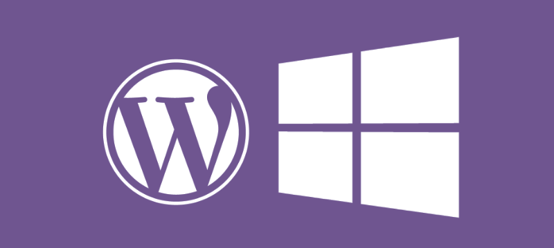 How to get a Windows server to play nicely with Wordpress